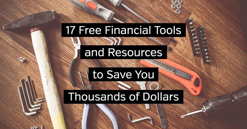 17 Free #FinancialTools and Resources to Save You Thousands of Dollars   #MahoganyMoneyMovement #LanguageOfMoney  https://buff.ly/2Vx5B6w