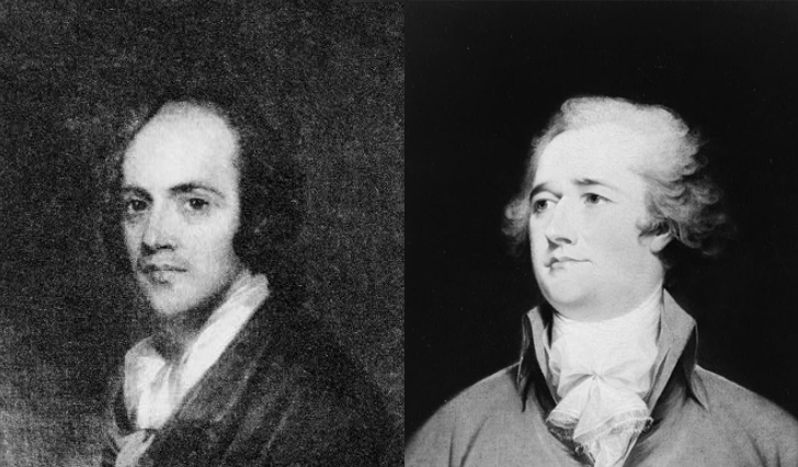Today in History: Aaron Burr shoots Alexander Hamilton in a duel in Weehawken, N.J., 1804 #otd #tih #hamilton loc.gov/item/today-in-…