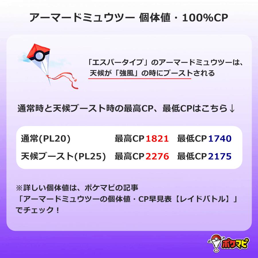 Cp ポケモン ミュウツー go アーマード