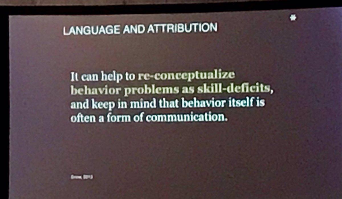 Rethink behavior problems as skill deficits. #L4GA
