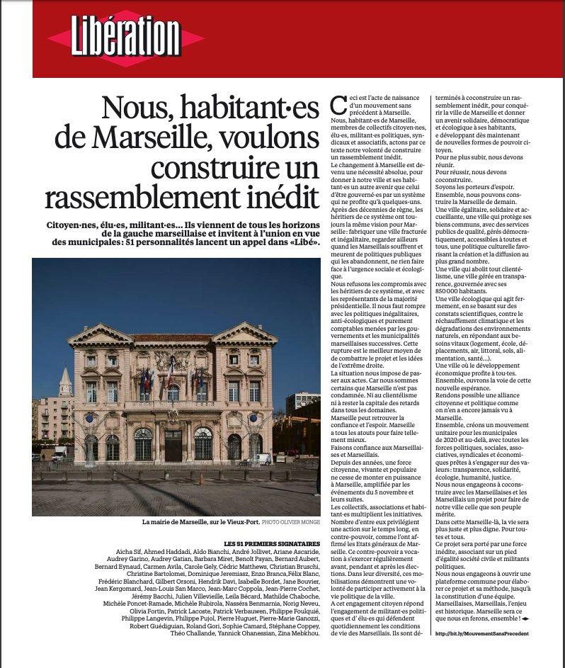 ccf3a0d6fa54e Libération, Sophie Camard, Jean-Marc Coppola and 7 others