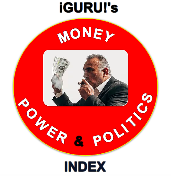 iGURU!'s - MONEY, POWER & POLITICS - INDEX  To access - click the link -  http://b.link/money-power-politics…  Please note - you might want to save the index link - as iGURU! is constantly updating its indexes.   #iGURUTeachingSystems #iGURU #Money #Power #Politics #iGURUIndexes