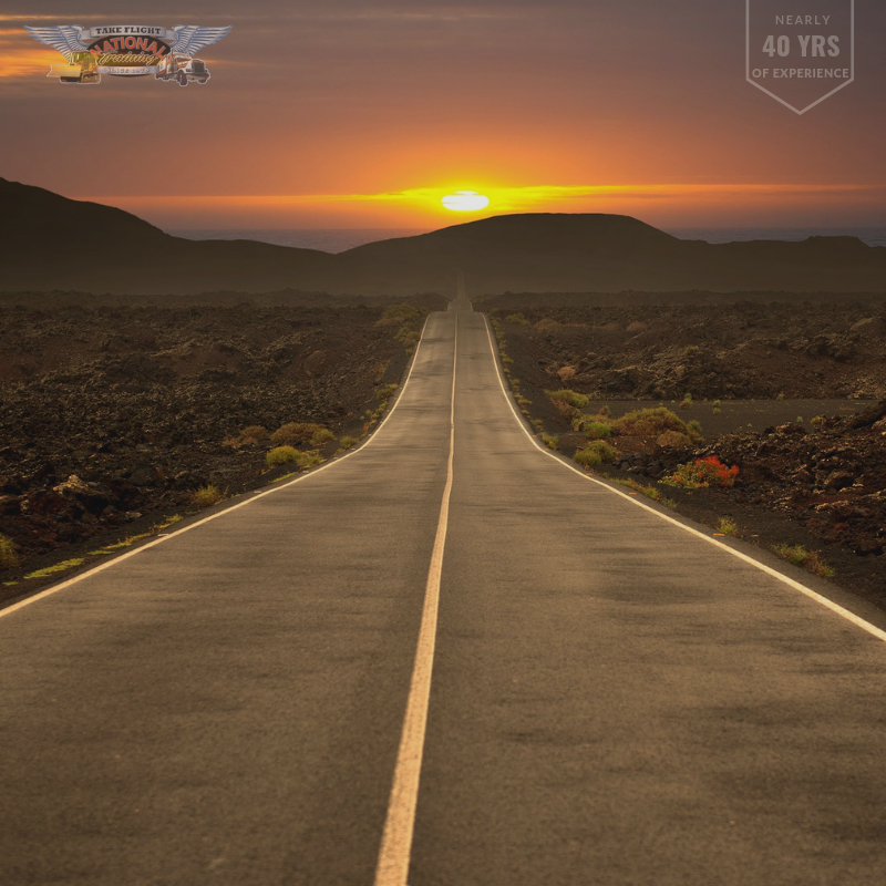 Many reasons for enjoying trucking.  The scenery, the freedom of the open road, nobody looking over your shoulder, being your own boss.  #cdlicense #cdltraining #truckdriving #truckers Professional Truck Driver Training  Call: 800-488-7364/902-272-4000 http://ow.ly/WAkF30ojpy7