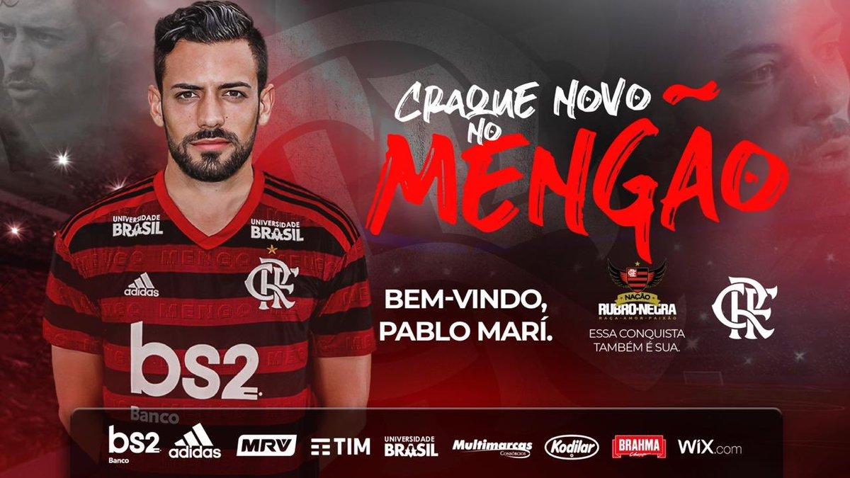 Pablo Marí, central del Flamengo (Foto: Flamengo).