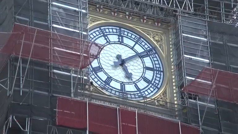 Britain's parliament marks 160 years since its 'Big Ben' bell first chimed. Read more: https://reut.rs/2NQE4ti