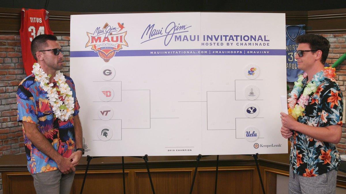 Maui Invitational Matchups Set