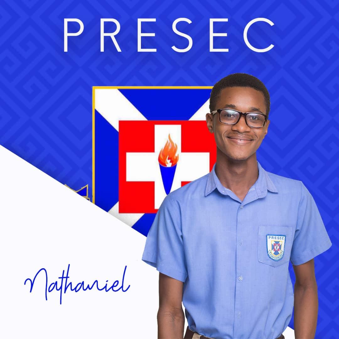"NSMQ Ghana on Twitter: ""Nathaniel 🔛 Selasie For PRESEC. #NSMQ2019  #NSMQ2019Finals… """