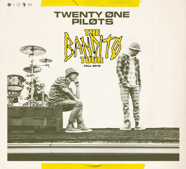 DOES ANYONE HAVE A TEXTLESS VERSION OF THIS? #twentyonepilots #banditotour