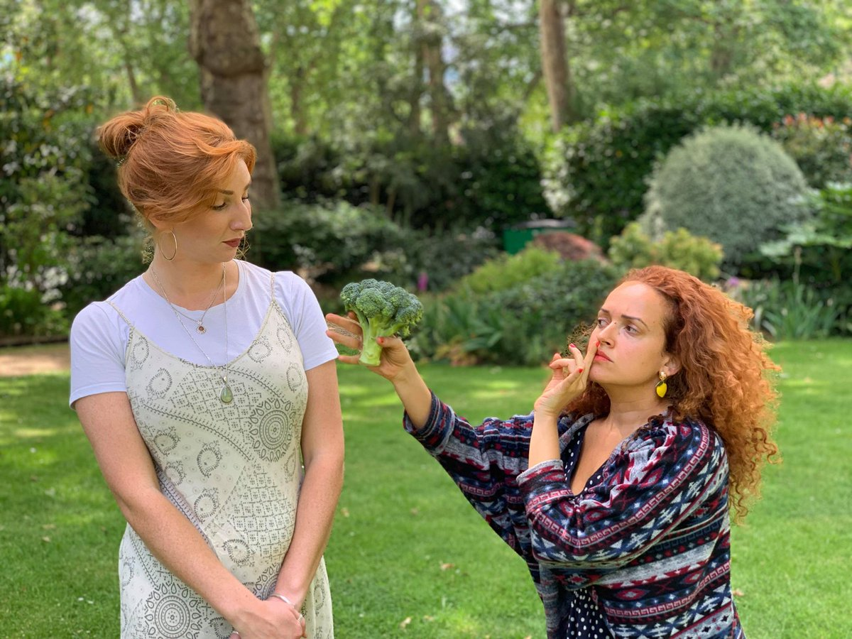 Listen to the broccoli!  We would love it if you could make it to the preview of our #edfringe  show the #glasselly on the 28th July 3.30pm at @goodenoughc For tickets contact goodtheatrecomp@gmail.com for tickets #MakeYourFringe