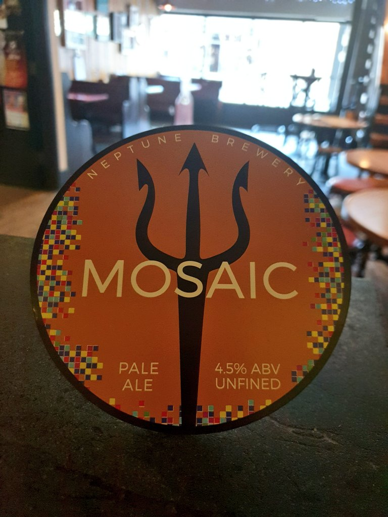 One of our favourites this year on cask from @neptunebrewery  #ThursdayMotivation #caskale #mosaic #palale #unfined