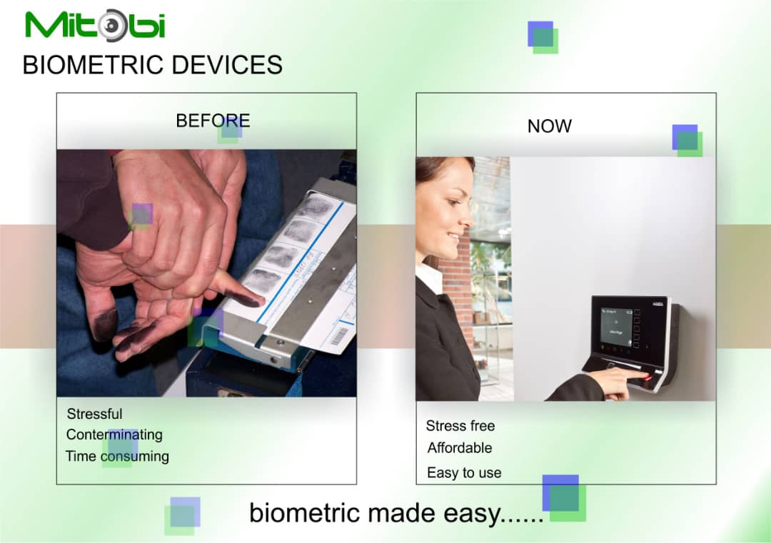 Throwback to when we needed black inks to stain the fingers before getting fingerprints done. #Biometrics, #AccessControl, #Time and attendance: #RFID Card, #Code #Facial #FingerPrints #ThrowbackThursday #Biometrics #Technology #Security #Homeautomation #CCTV #Mitobi