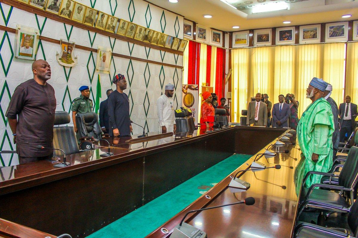 Abduslami Visit Oyo State Governor