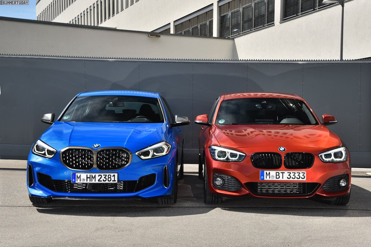Carsinpixels On Twitter The New Bmw 1 Series F40 Vs The Old Bmw 1 Series F20 Which Do You Prefer