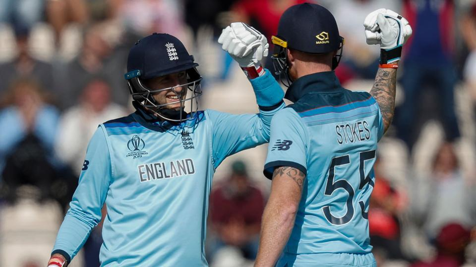 England have all but confirmed their place in Sundays Cricket World Cup final, with only 77 runs needed in 30 overs to clinch victory over the defending champions, Australia!
