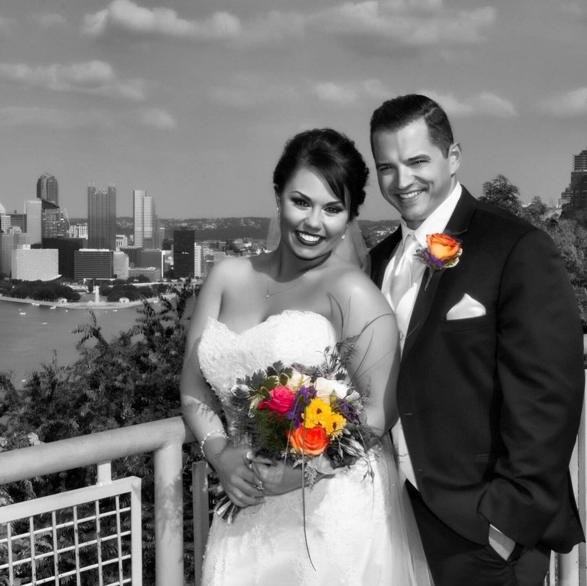 Celebrating 4 years with this stud today! 😍❤️☺️#BonatestaFiesta #711Day  – at Sheraton Pittsburgh Hotel at Station Square