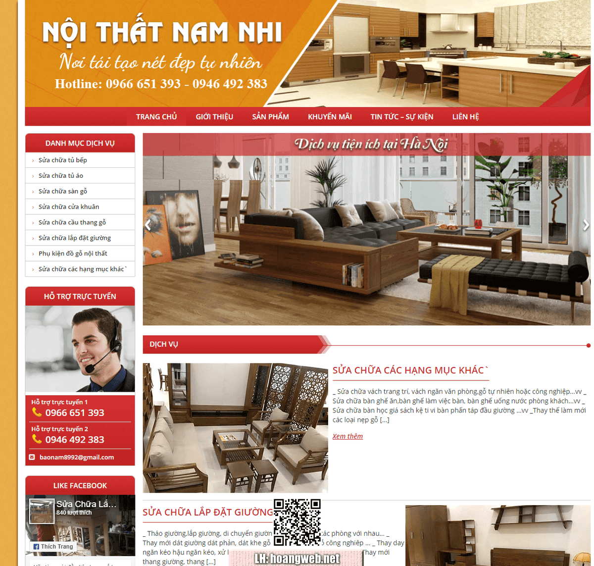 Web nội thất - đồ gỗ thumbnail