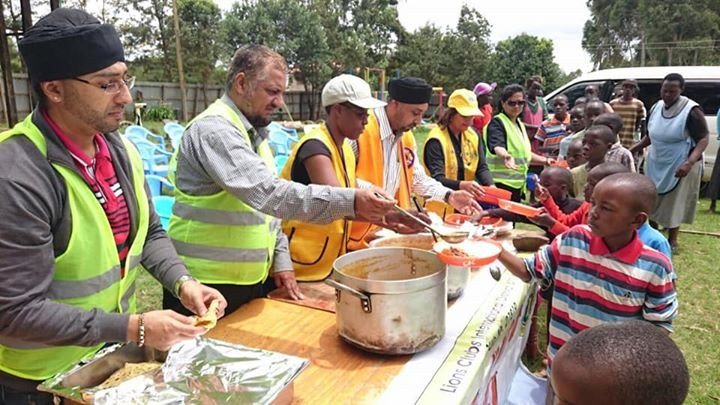 test Twitter Media - Lions everywhere are committed to feeding the hungry. In Kenya, they cooked and served a hot meal with biscuits, fruit and milk to 60 children at the Neema Children's School. Thank you, Lions! https://t.co/MkegFLC889