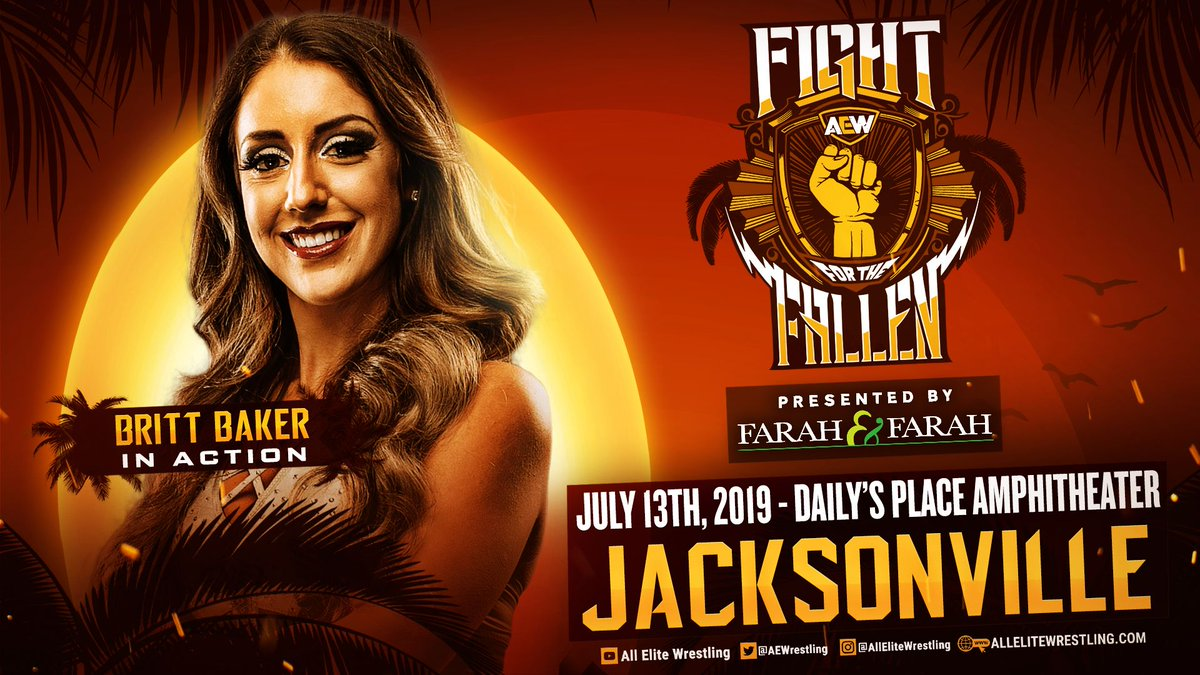 Dr. Britt Baker To Wrestle At AEW Fight For The Fallen, Bea Priestley To Debut