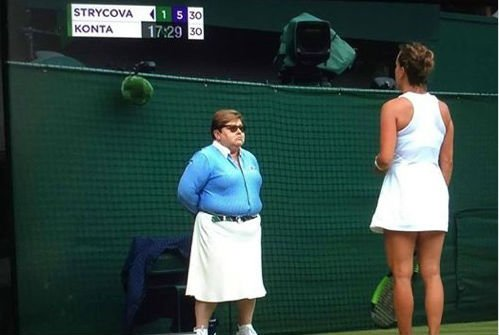 Forget about Jason Roy's innings and the cricket, Elton John is at Wimbledon!#ENGvAUS #CricketWorldCup19 #Wimbledon