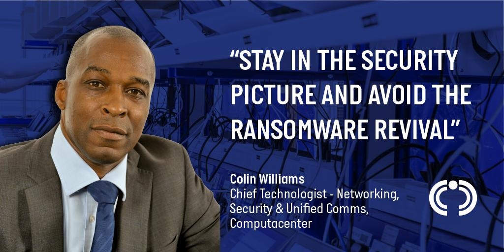 Ransomware 2 - the sequel - nastier and bolder than ever before. Colin Williams, Chief Technologist for Networking, Security and Unified Comms at Computacenter, describes how you can avoid the ransomware revival in his latest blog ➡️bit.ly/2xOpnMp