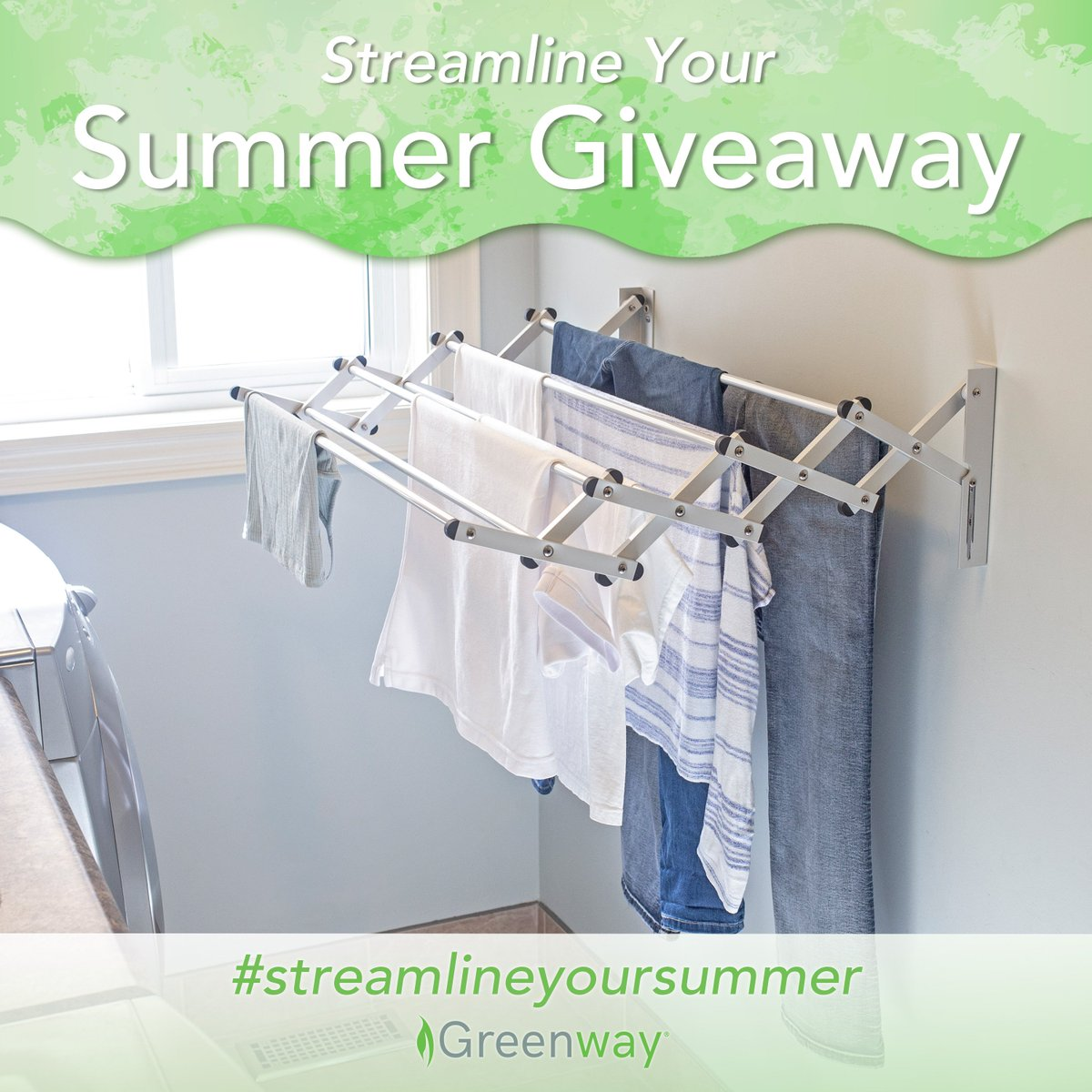 Whether it be poolside or in the laundry room, our versatile Indoor/Outdoor Foldable Drying Rack helps you keep your home clean and organized so you can stay carefree all summer! Enter for a chance to win your own here https://t.co/zTomZtpWQZ #streamlineyoursummer https://t.co/yLoAHEzflr