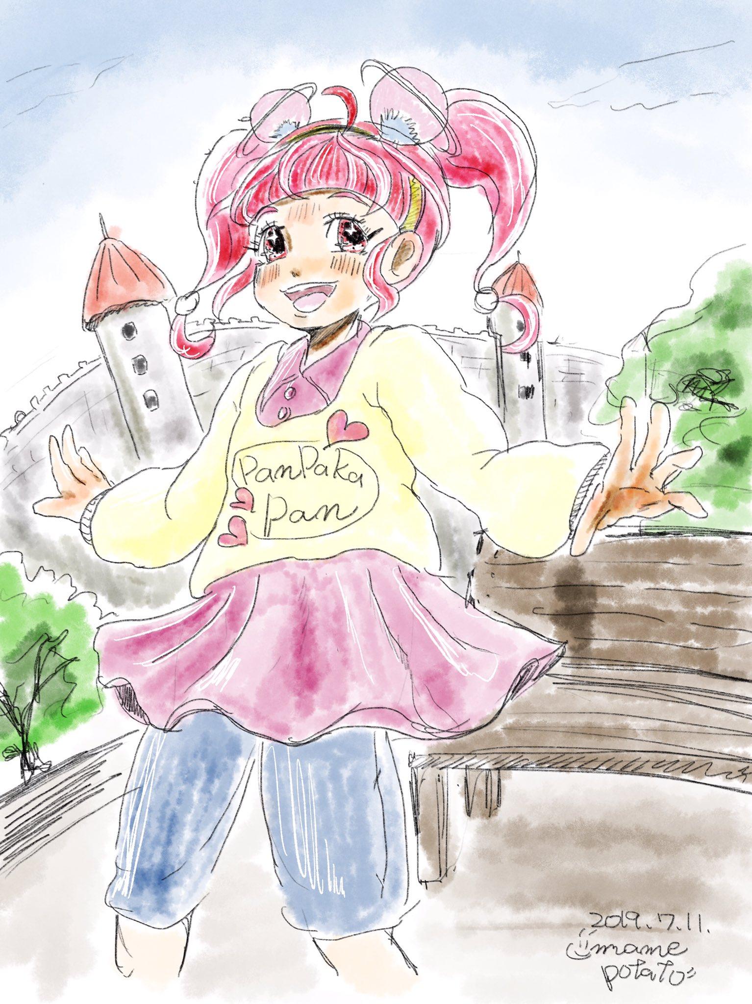 まめポテト@S☆S方面アイカツ!行、もちとうもろこし布教 (@mamepotato2)さんのイラスト