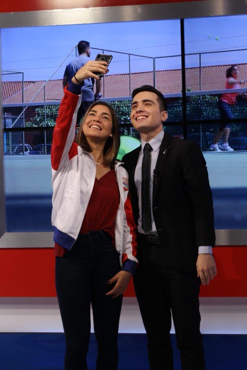 Muchas gracias a @tvparaguay por el espacio y a @emanuelpy_  por la entrevista de hoy para contar sobre mi preparación para los Juegos Panamericanos!   Feliz de tener la oportunidad de representar y vestir los colores de mi país 🇵🇾 por 2da vez en estos juegos! #VamosParaguay