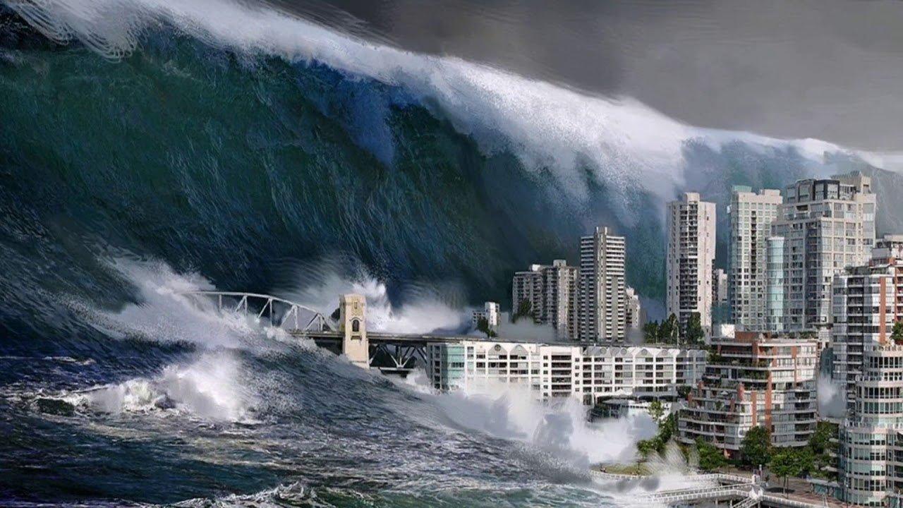 картинки японского цунами бы