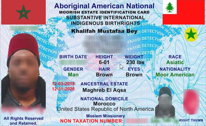 Moorish Nationality Card Services (@moorsidcard)   Twitter