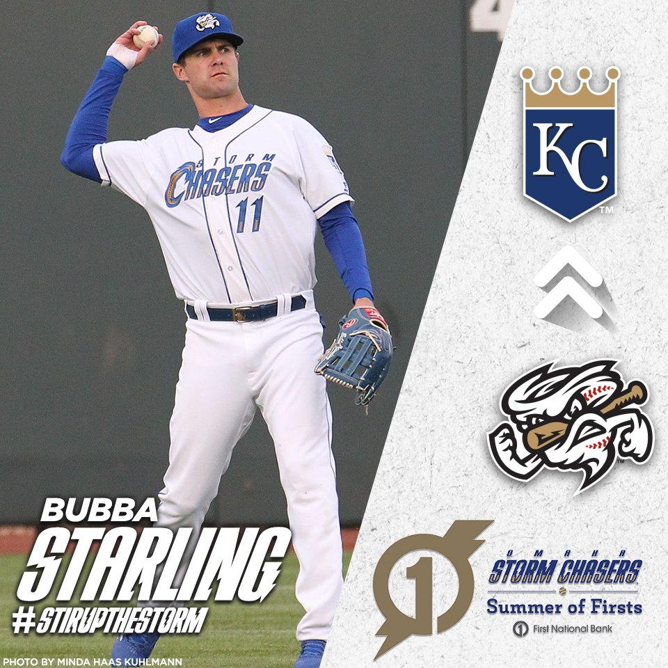 Bubba Starling is going to The Show! Congratulations, Bubba and best of luck with the @Royals! @fnbo | #UnforgettableFirsts