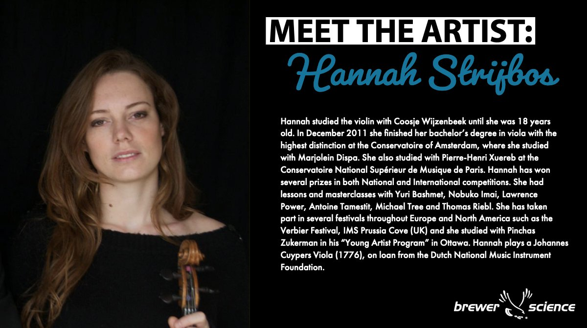 test Twitter Media - The Chamber Music Series will feature the Jacques Thibaud Trio for 3 concerts in Missouri. Hannah Strijbos is a talented violist and member of the Jacques Thibaud Trio. You can find information on all the musicians and concerts on our website: (https://t.co/KRxhtdKA42). https://t.co/oDvgr7Kac4