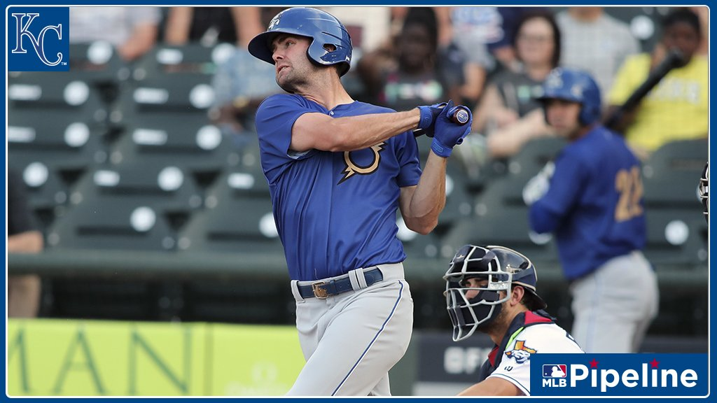 #Royals call up 2011 No. 5 overall #MLBDraft pick Bubba Starling for his #MLB debut. The 26-year-old outfielder was @MLB's No. 17 overall prospect entering the 2012 season: https://atmlb.com/2JGEEEz