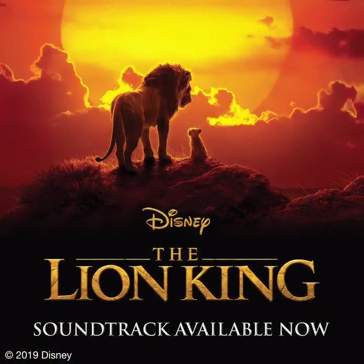 The Lion King On Twitter It Is Time The Soundtrack To