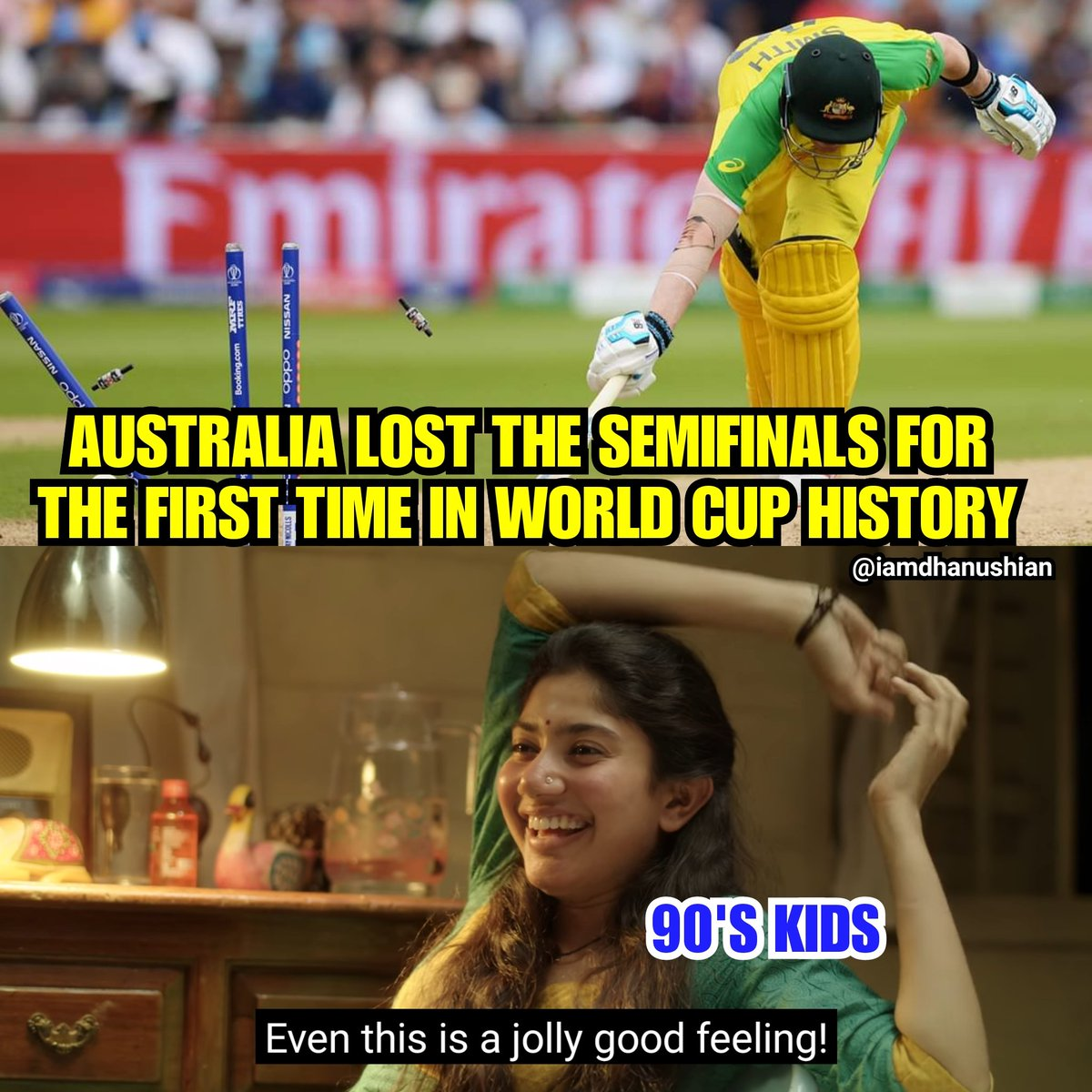 Well played both teams#ENGvAUS
