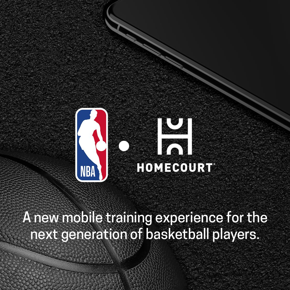 The NBA is excited to announce its partnership with @HomeCourtai to develop a new mobile training experience for the next generation of basketball players. Check out the NBA Summer contests and start honing your basketball skills. #HomeCourtNBA   📱: https://pr.nba.com/nba-partnership-nex-team-homecourt-app/ …