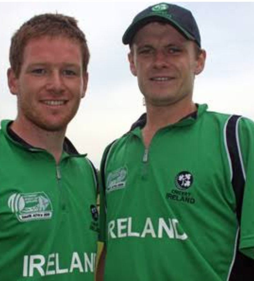 From playing for Ireland back in 2007 worldcup to taking England into the final after 27 years Eoin Joseph morgan has come a long way .#ENGvAUS