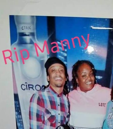 #ripmanny u will always be remembered as a funny big smile party animal. Imma miss u and our talks and laughs ... watch over dem babies and all of us ... sleep in peace my mans #gooddude