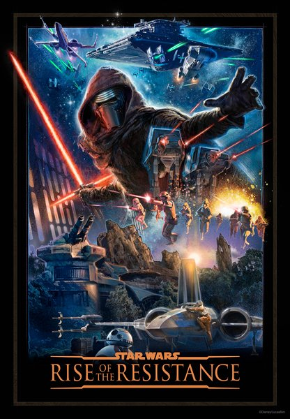 Star Wars: Rise of the Resistance will open December 5th, 2019 at #WaltDisneyWorld Hollywood Studios and January 17th, 2020 at #Disneyland. LIKE or RT if you're excited for this attraction to open in #StarWars #GalaxysEdge
