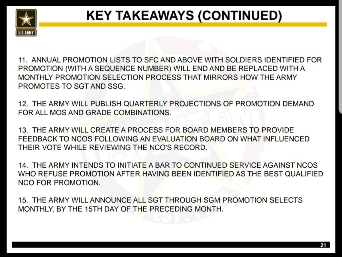 Sfc Promotion List 2020.Morgan In J1 On Twitter The Key Points Of The New Nco