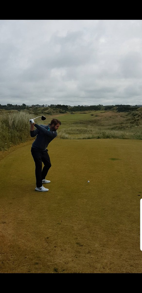 Great time playing with @mattbaldwin26 & @TommyFleetwood1 @FinoEFC @RBGC_ProShop today. Felt like a Lancashire Boys practice round with a slight difference. #Openprep #someskills
