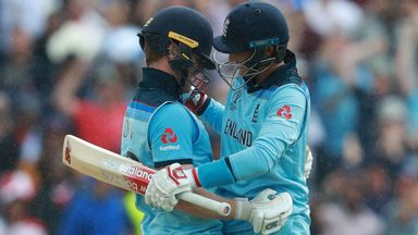 """Cannot believe English thrashing Australia! It might sound premature but I love the Words """"New World champion"""" Looking forward to Sunday #ENGvAUS  #CWC19Final  Ironic Joe Root is squad number 66 could that be 1966 all over again??<br>http://pic.twitter.com/7YaqnFQVrj"""