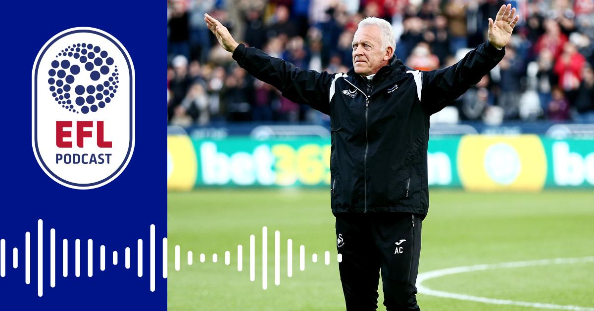 🎧 The #OfficialEFLPodcast has landed! This week we chat to @SwansOfficial legend Alan Curtis! Listen here: po.st/AlanCurtisPod