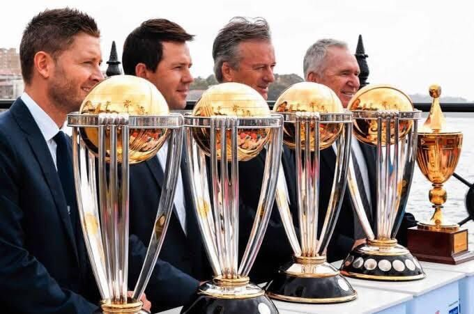Tired of Winning World Cups !! 😏#CricketWorldCup19