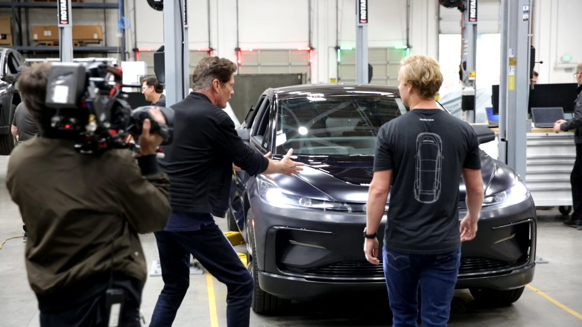 Faraday Future On Twitter Thanks To History Channel For A Great Show Featuring Faradayfuture It Was Very Exciting To Have Davidhasselhoff Experience The Future Technology Of Ff91 You Can View The Episode