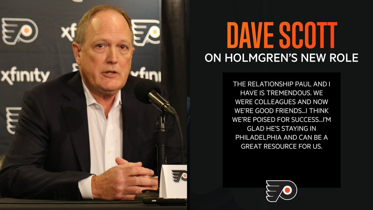 @NHLFlyers's photo on Paul Holmgren