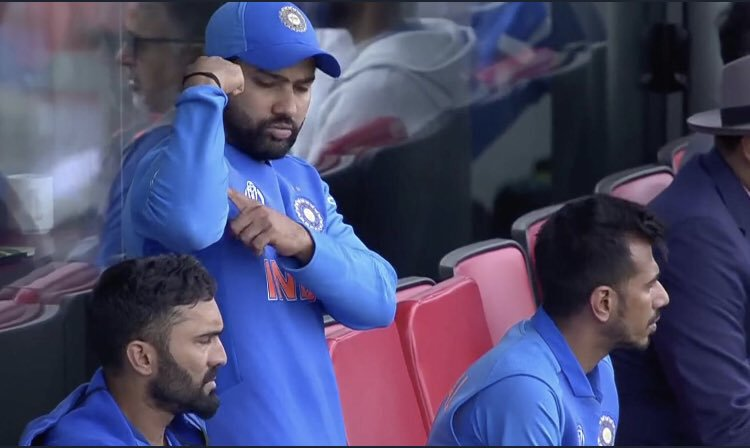 This is one of the best scene I have scene, respect for this guy increased from my side.  indicating Jadeja that he's strong to win this one, is one of the best moment.  #RohitSharma <br>http://pic.twitter.com/PPeQTl5C09