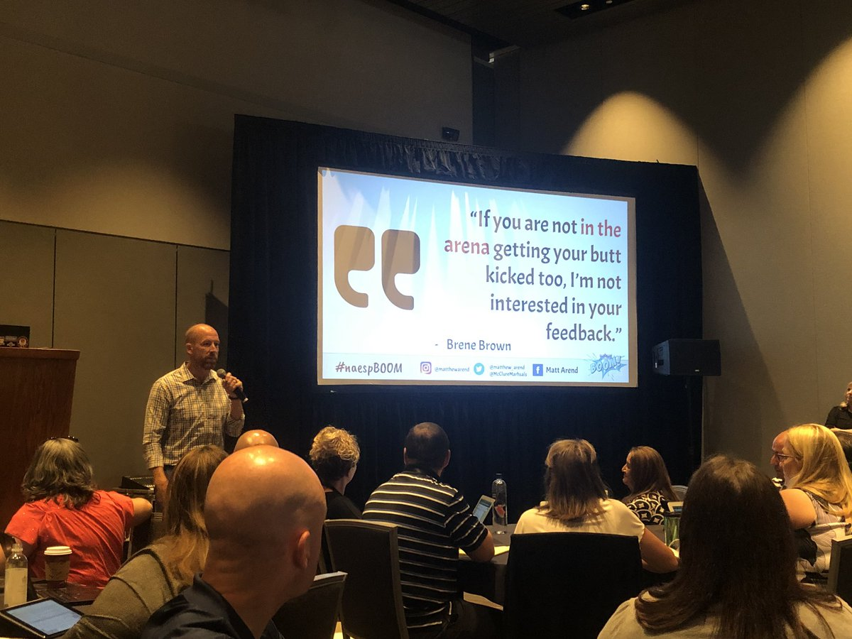 @matthew_arend dropping knowledge at #NAESP19
