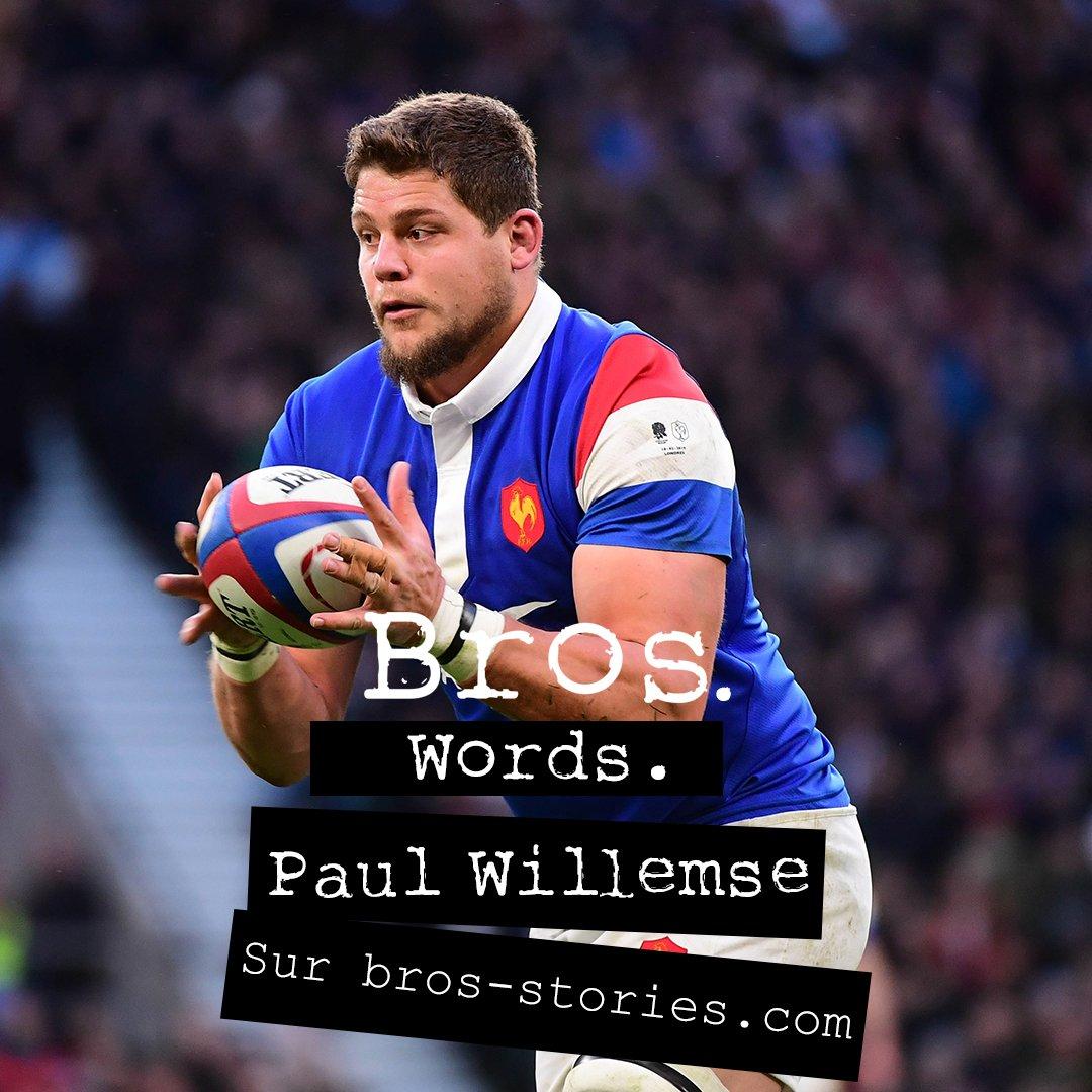 Privé de Coupe du Monde, son rêve de gosse, #PaulWillemse a une histoire française à raconter. La sienne. Words.  Full story 👉http://bit.ly/paul-willemse-bros-stories-words…  #StraightFromTheAthletes #PaulWillemse#Words #XVdeFrance