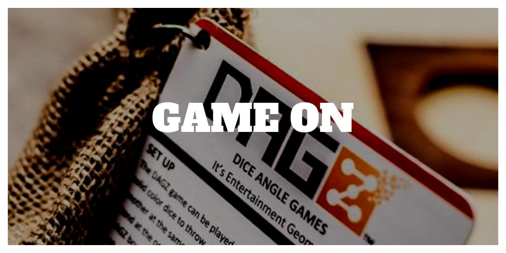 Who do you want to CHALLENGE in a game of DAGZ?  Tag them in this photo so they know... GAME ON! #boardgames #dice #tabletopgames #playdagz #games #smallbusiness #bargames #giftidea #bargames  https://buff.ly/2Jy77g0