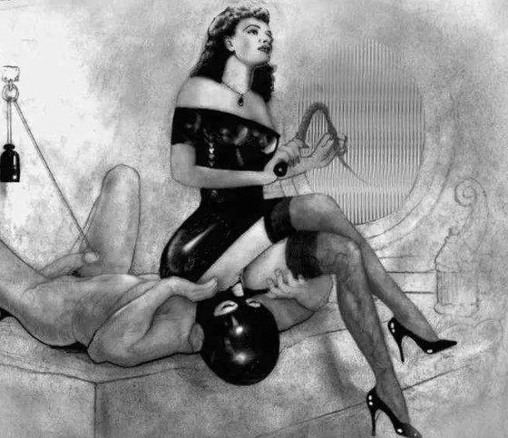 Госпожа на пляже и раб #12